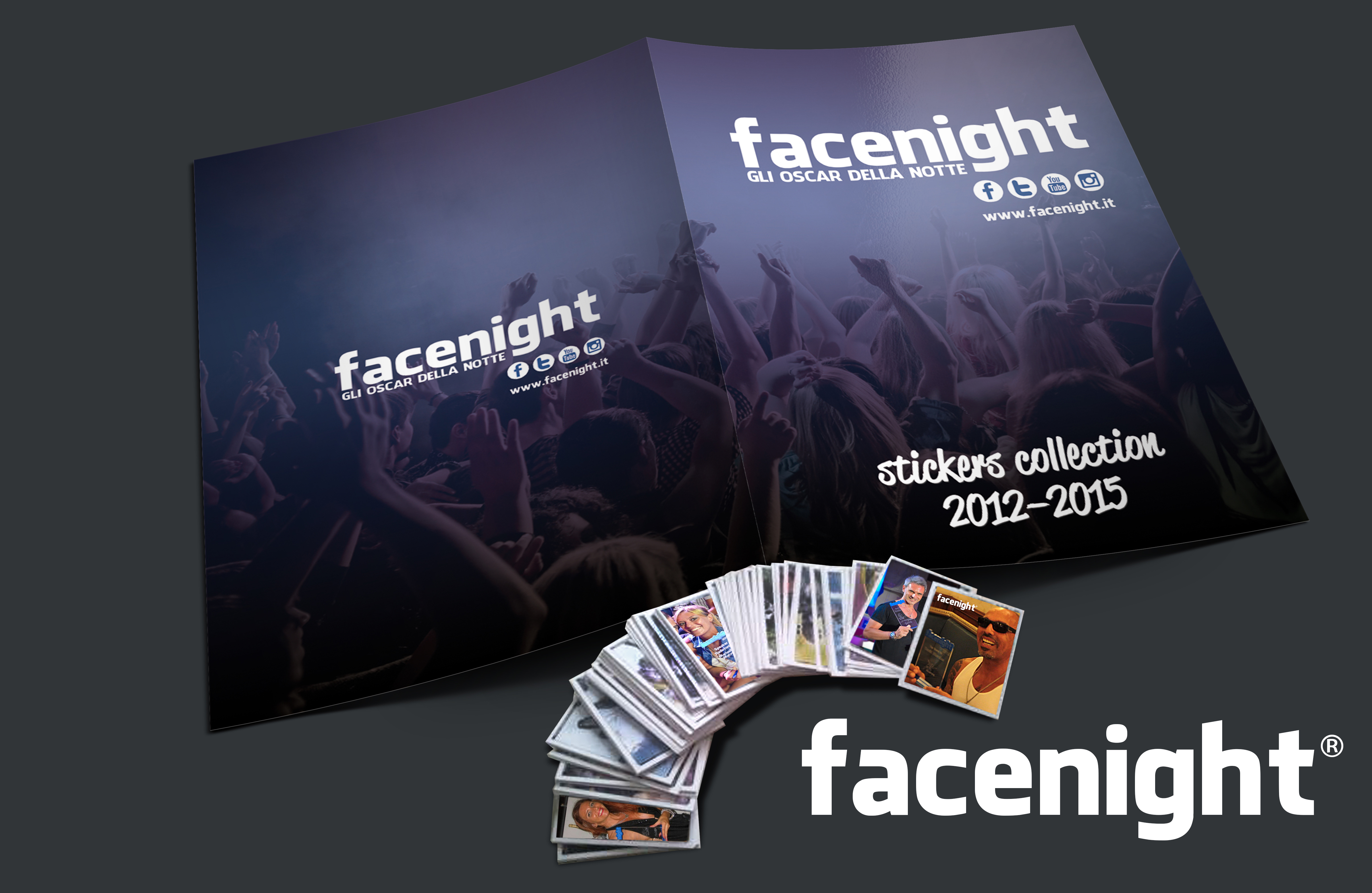 Facenight-sticker-collection